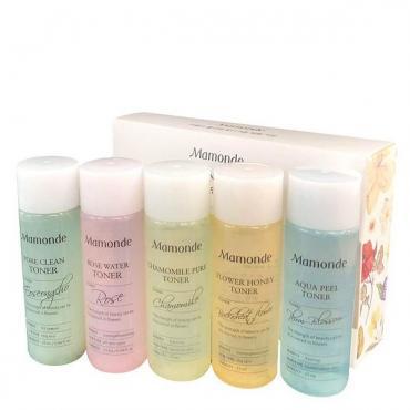 Миниатюрный набор тонеров Mamonde Flower Toner Trial Kit