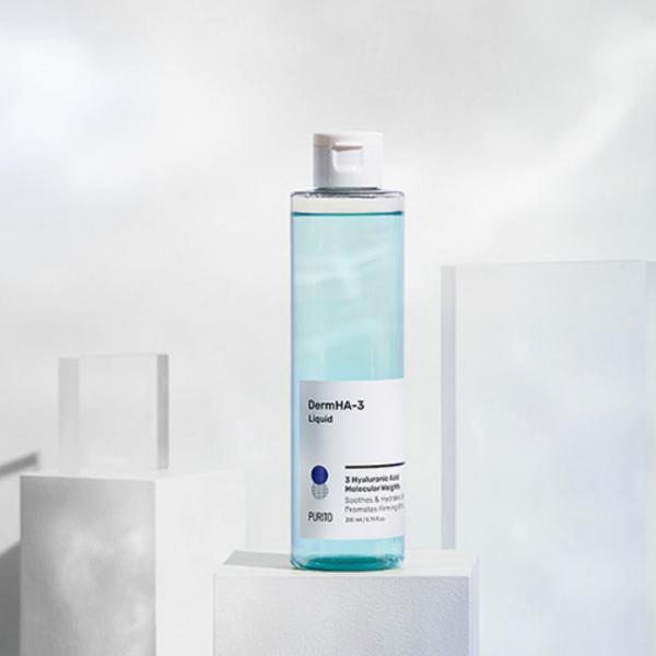 Увлажняющий тонер с гиалуроновой кислотой Purito DermHA-3 Liquid 200 ml