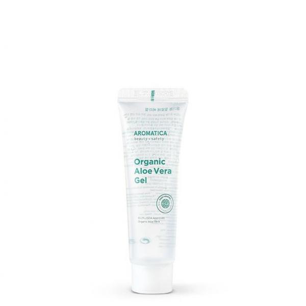 Увлажняющий Органический гель алоэ вера 95% Aromatica 50 ml