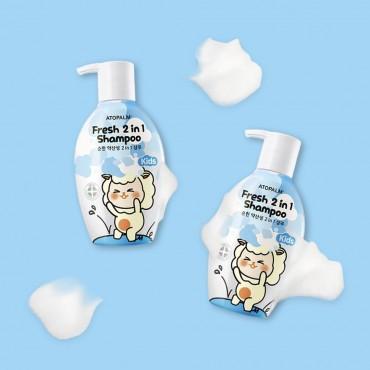 Детский шампунь 2в1 Atopalm Fresh 2in1 Shampoo Kids 380 ml