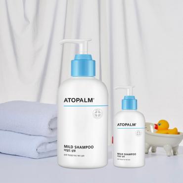 Ухаживающий шампунь с низким РН Atopalmу Mild Shampoo 300 ml