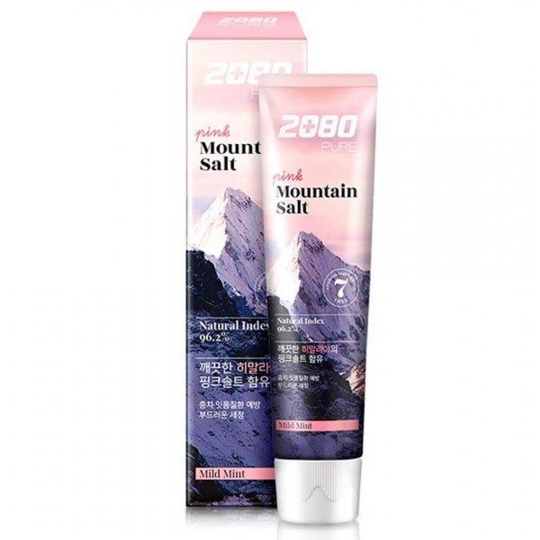 Зубная паста с розовой гималайской солью Dental Clinic 2080 Pure Pink Mountain Salt Toothpaste Mild Mint 120 g
