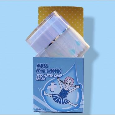 Увлажняющий крем с гиалуроновой кислотой Elizavecca Aqua Hyaluronic Acid Water Drop Cream  50 мл