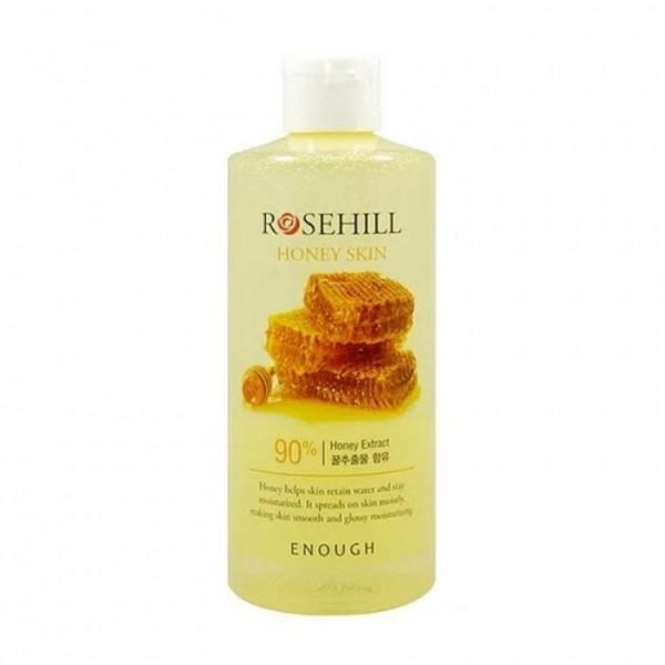 Питательный тонер для лица с медом Enough Rosehill Honey skin  300 мл