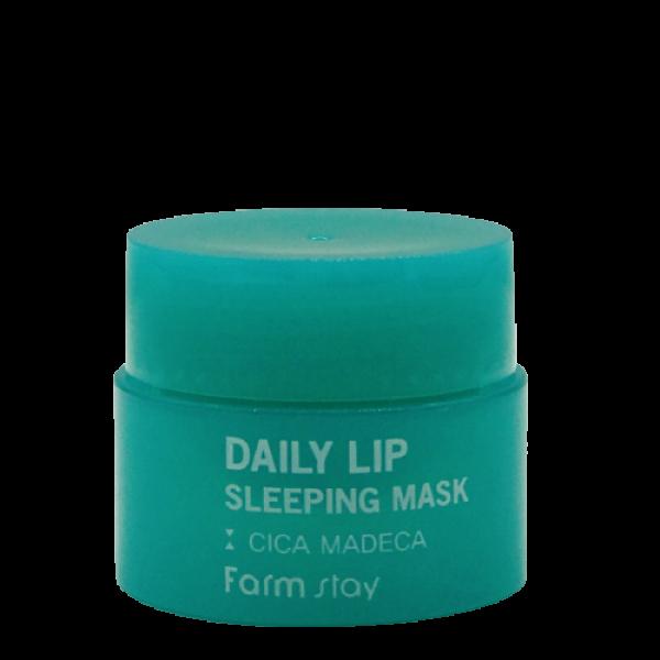 Заживляющая ночная маска для губ с экстрактом центеллы 3 ml