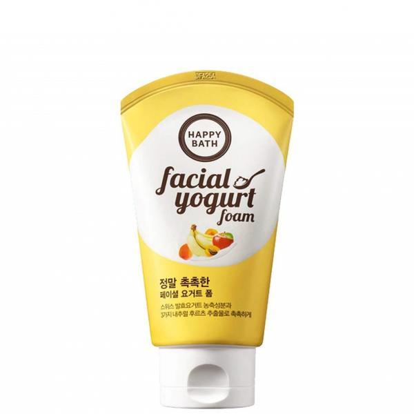 Очищающая йогуртовая пенка для сухой кожи Happy Bath 120 g