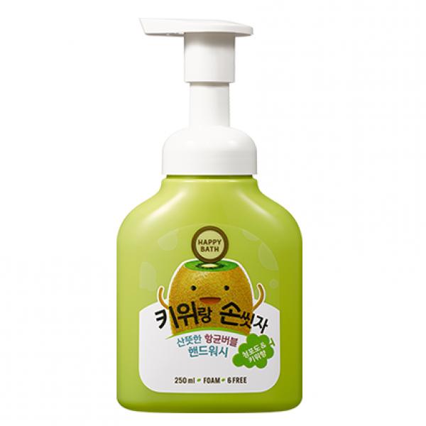 Пенка-мыло для рук с экстрактом киви Happy Bath 250 ml