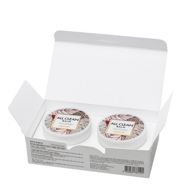 Гидрофильный бальзам для глубокого очищения кожи Heimish All Clean Balm 2*50 ml
