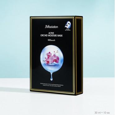 Тканевая увлажняющая маска с орхидеей JMsolution Active Orchid Moisture Mask Ultimate 30 ml