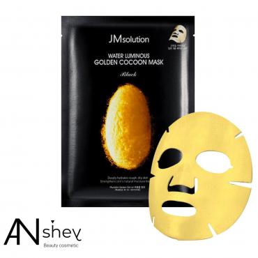 Тканевая маска с протеинами кокона золотого шелкопряда