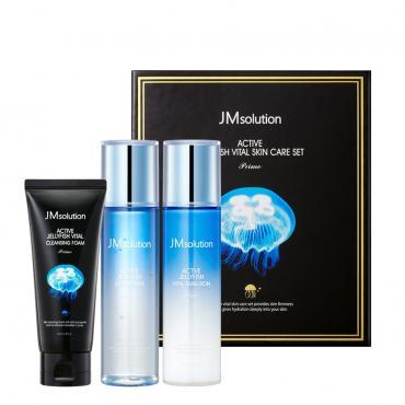 Набор для ухода за кожей с экстрактом медузы JM Solution