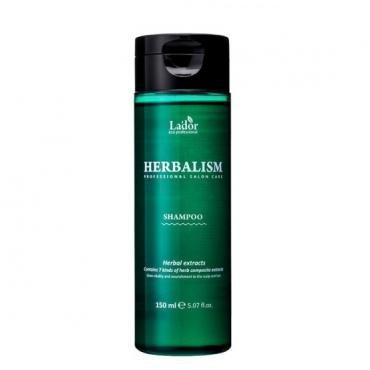 Успокаивающий травяной шампунь против выпадения волос Lador 150 мл