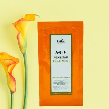 Маска для волос и кожи головы с яблочным уксусом Lador ACV Vinegar Treatment 10 ml