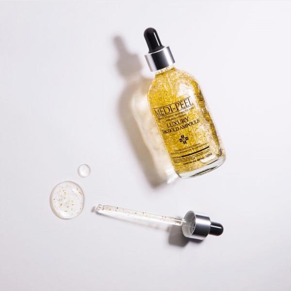Ампула с золотом 24К для эластичности кожи MEDI-PEEL Luxury 24K Gold Ampoule 100 ml