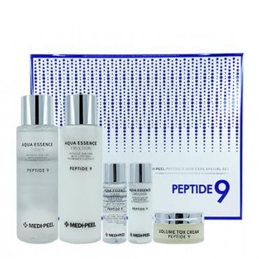 Увлажняющий набор с пептидами для эластичности кожи