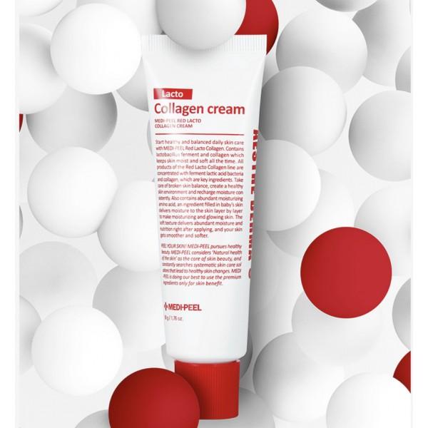 Укрепляющий крем с коллагеном и лактобактериями Medi-Peel Red Lacto Collagen Cream 50 g