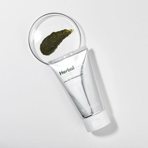 Очищающая пилинг-маска с эффектом детокса MEDI-PEEL Herbal Peel Tox Wash Off Type Cream Mask 30ml