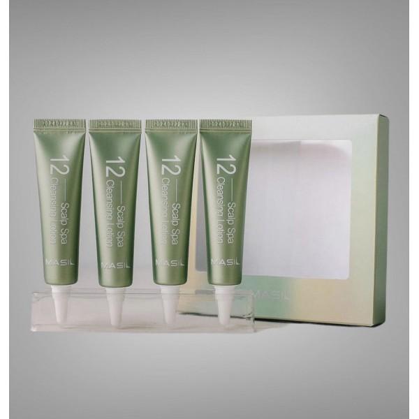 SPA лосьон для очищения кожи головы Masil 12 Scalp Spa Cleansing Lotion 15 ml