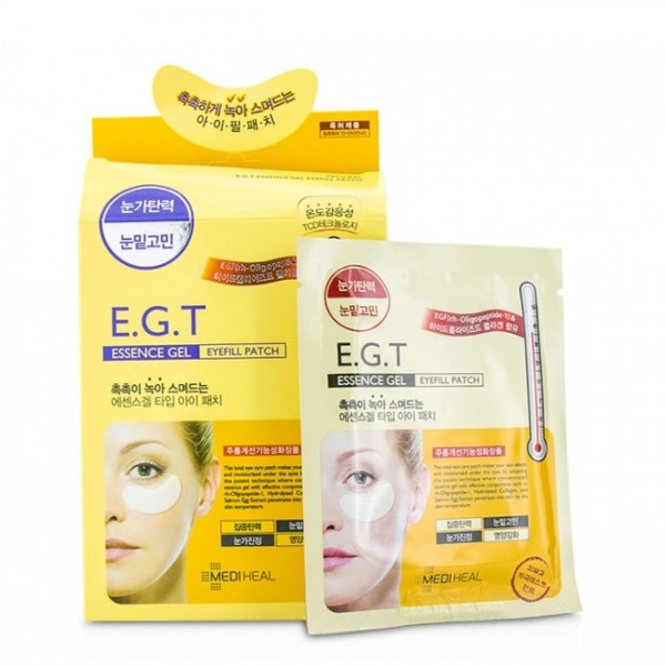Патчи гидрогелевые с морским коллагеном Mediheal E.G.T Essence Gel Eyefill Patch 1 пара