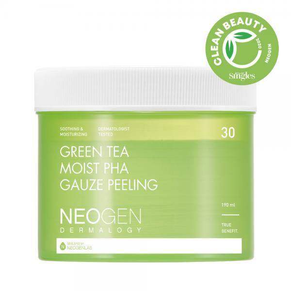 Пилинговые диски с кислотами и зелёным чаем  30 шт
