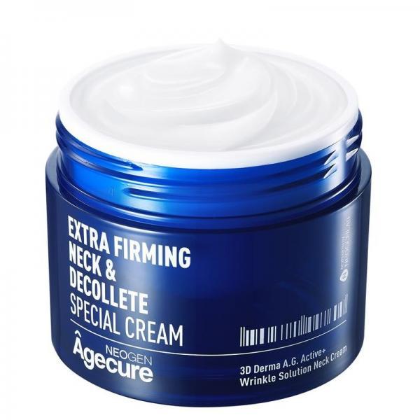 Крем для шеи и зоны декольте Neogen Agecure Extra Firming Neck & Decollete Special Cream 80 ml