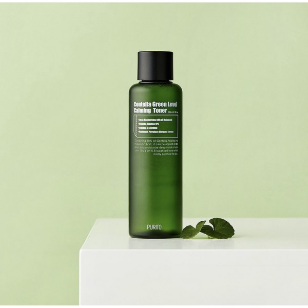 Успокаивающий тонер с экстрактом центеллы азиатской PURITO Centella Green Level Calming Toner 200 мл
