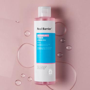 Успокаивающий тонер для чувствительной кожи лица Real Barrier Cicarelief Toner 190 ml