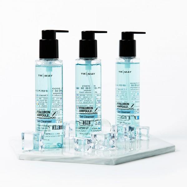 Очищающий гель с гиалуроновой кислотой Trimay Hyaluron Ampoule Gel Cleanser 150 ml