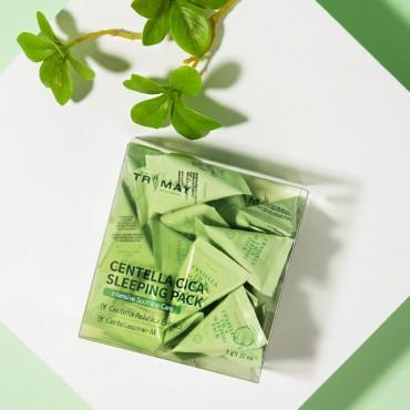 Успокаивающая маска с центеллой TRIMAY Centella Cica Sleeping Pack 3 g