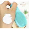 Очищающая пенка с мятой и силиконовой щеткой Wellderma Gomdochi Foam Cleanser and Massager Cooling