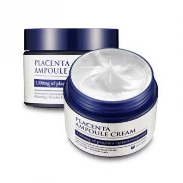 Концентрированный крем с плацентарным протеином Mizon Placenta Ampoule Cream 50мл