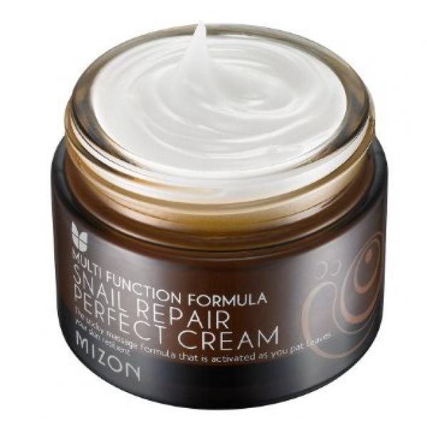 Антивозрастной питательный крем с экстрактом слизи улиток Mizon Snail Repair Perfect Cream