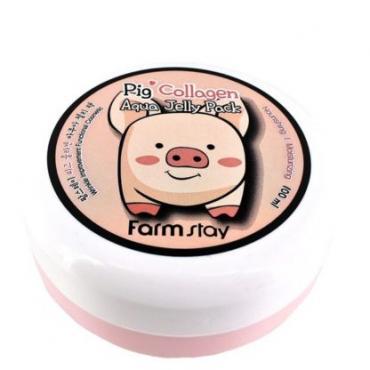 Увлажняющая маска-желе со свиным коллагеном FarmStay Pig Collagen Aqua Jelly Pack