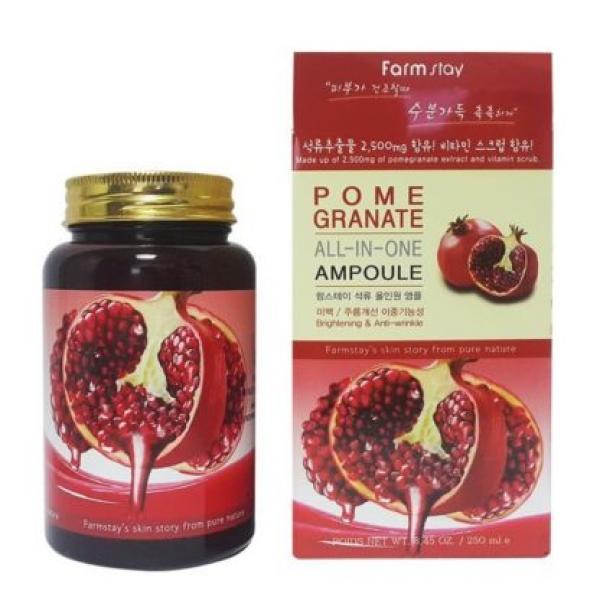 Ампульная сыворотка для лица с экстрактом граната FARM STAY Granate All-in-one Ampoule