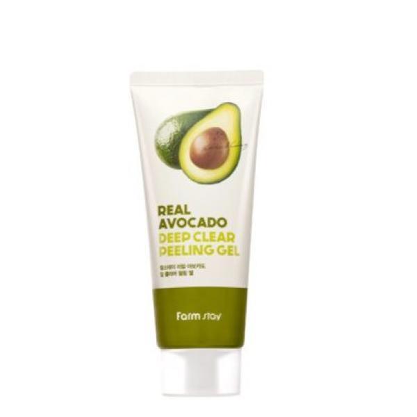 Пилинг-гель с экстрактом авокадо FARM STAY Real Avocado Deep Clear Peeling Gel