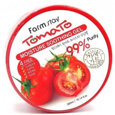Универсальный гель с экстрактом томата FARMSTAY Tomato Moisture Soothing Gel