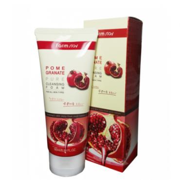 Пенка с экстрактом граната Farm stay Pomegranate Pure Cleansing Foam