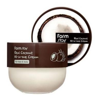 Крем для лица и тела с маслом кокоса FarmStay