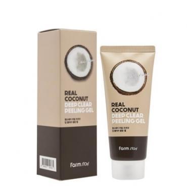 Пилинг-гель с экстактом кокоса Farmstay Real Coconut Deep Clear Peeling Gel