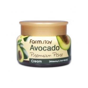 Осветляющий лифтинг-крем с экстрактом авокадо FarmStay Avocado Cream