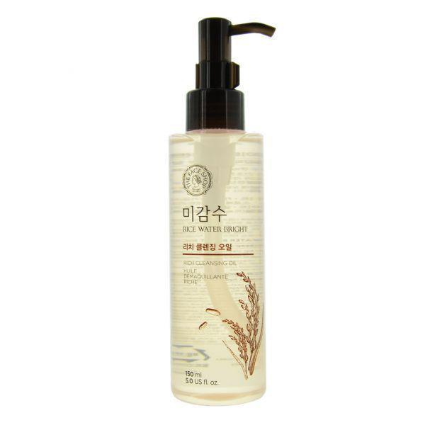 Гидрофильное масло для сухой кожи THE FACE SHOP Rice Water Bright Cleansing Rich Oil