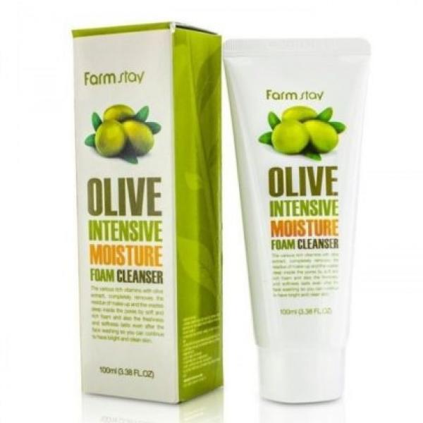 FarmStay Olive Intensive Moisture Foam Cleanser