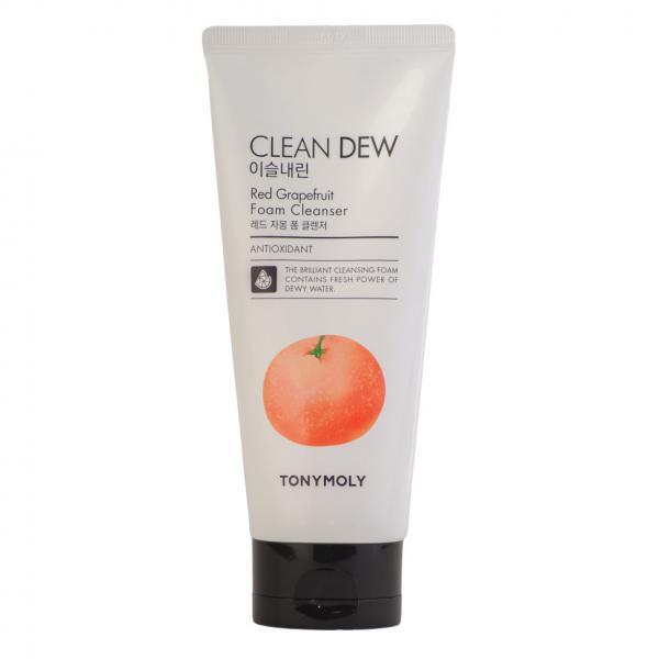 Пенка для умывания с экстрактом красного грейпфрута TONY MOLY Clean Dew Red Grapeаruit Foam Cleanser