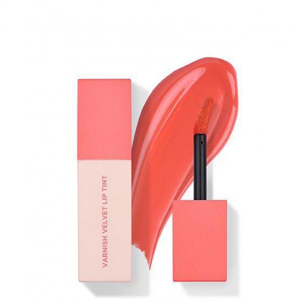 Нежный тинт для губ HEIMISH Varnish Velvet Lip Tint #02 Peach Coral