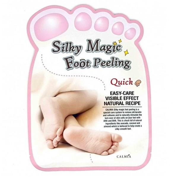 Пилинг носочки Calmia Silky Magic Foot Peeling Quick Type