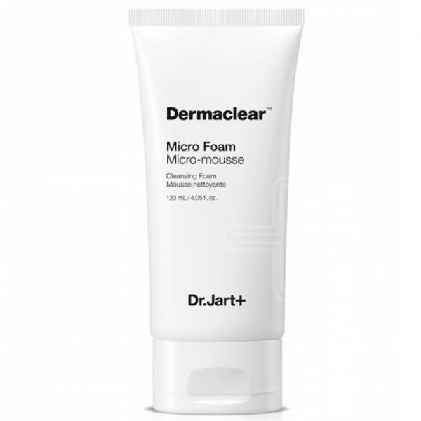 Глубокоочищающая пенка для умывания для чувствительной кожи Dr.Jart+ Dermaclear Micro Foam 120 мл