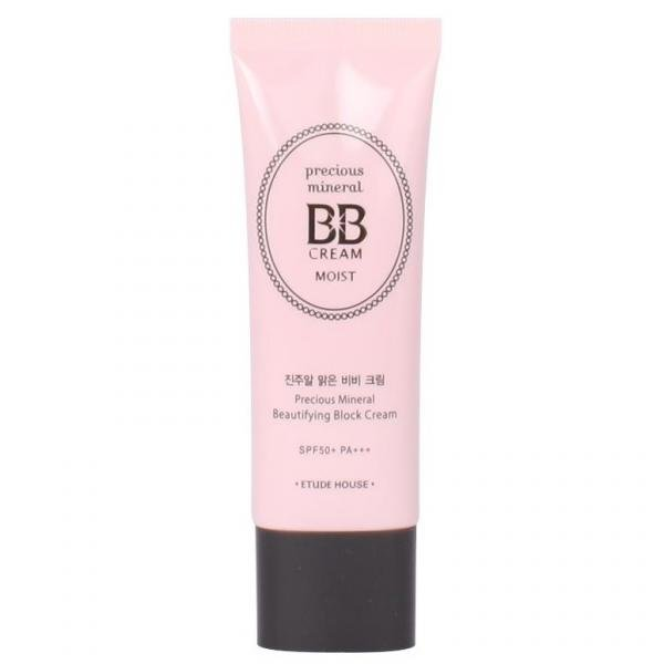 Минеральный ББ крем ETUDE HOUSE Precious Mineral BB Cream Moist SPF50+/PA+++ (Sand)