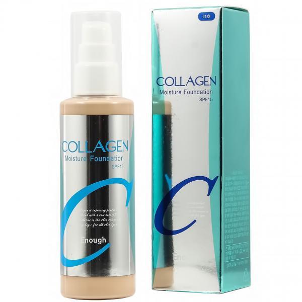 Увлажняющая основа с коллагеном №21 Enough Collagen Moisture Foundation SPF15