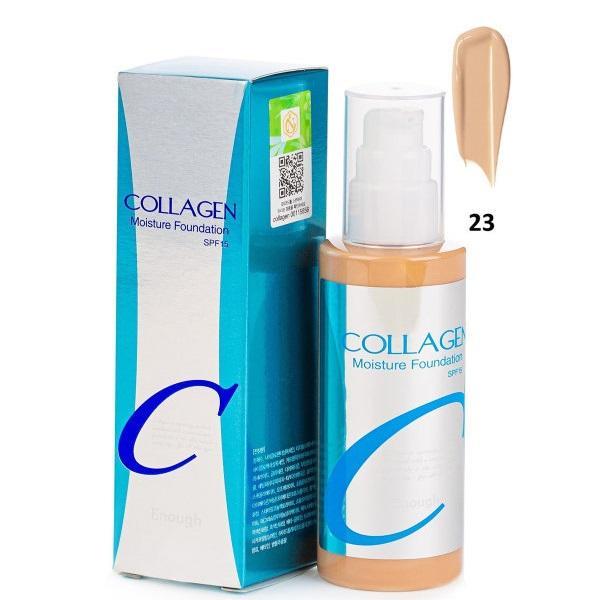 Увлажняющая основа с коллагеном №23 Enough Collagen Moisture Foundation SPF15