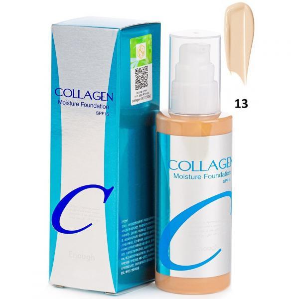 Увлажняющая основа с коллагеном №13 Enough Collagen Moisture Foundation SPF15